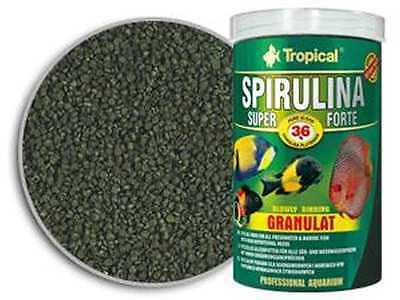 Tropical SPIRULINA SUPER FORTE GRANULAT high content 36%of Spirulina 250ml1000ml