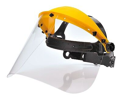 Portwest PW91 Browguard With Clear Visor Face Shield Protection