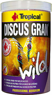 TROPICAL DISCUS GRAN WILD Slowly sinking granules for wild discus 250ml1000ml