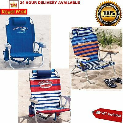 Tommy Bahama Backpack Folding Beach Chair in 3 COLOURS Available NEW