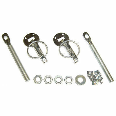 Universal Competition Bonnet Pins Stainless Steel Boot Car Rally Fasteners Mini