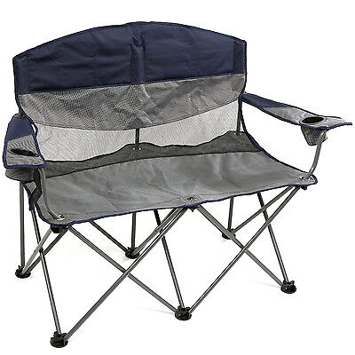 Stansport Apex Double Arm Portable folding Camping Beach Outdoor Chair Fishing