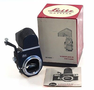 Leica-M Camera Visoflex Iii Boxed Slr Conversion M9 Nr