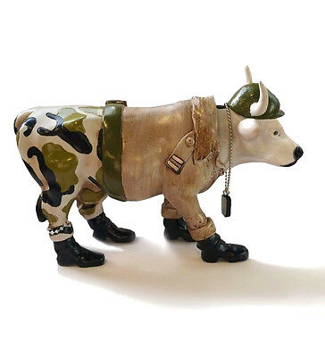 Cows On Parade Military Cow Figure