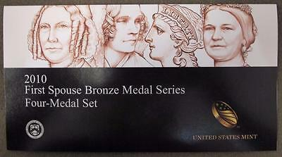 2010 First Spouse Bronze Medal Series * 4 Medals * U.S. Mint