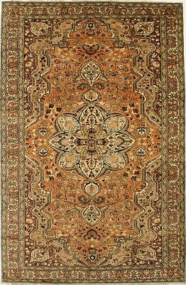 Excellent Quality Orange Kashan Turkish Persian Oriental Area Rug Carpet 7X10