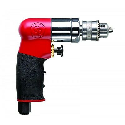 "NEW CP 7300 1/4"" Air Drill, Chicago Pneumatic Mini Drill"
