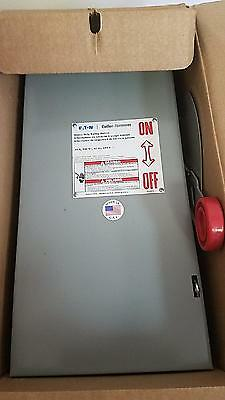 Eaton Cutler Hammer DH321FGK 30 Amp 240V Fused Switch 3 Phase indoor new