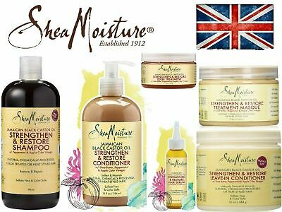 Shea Moisture Jamaican Black Castor Oil Strength, Grow & Repair Full Range