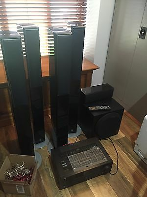 Yamaha RX-V461 5.1 Home Theatre System