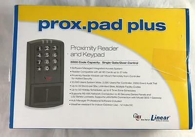 NEW Linear Prox.Pad Plus Proximity Reader & Keypad IEI 0-205679 Gate Door Contrl