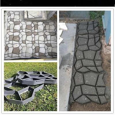 NEW Multi-Styles Driveway Paving Pavement Mold Garden Decorative Stepping Stones