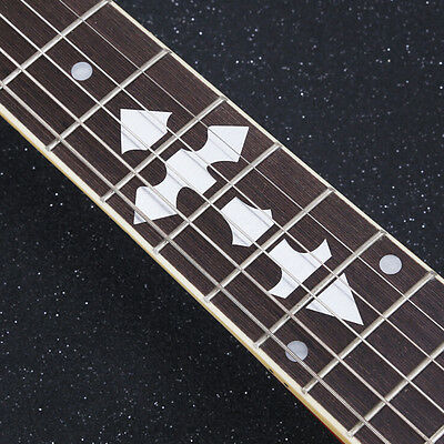 1x Acoustic Electric Guitar Inlay Sticker Fretboard Marker Fret Decal Decorate