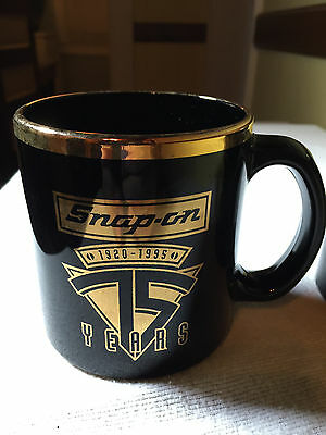 SNAP-ON 75th Anniversary Coffee Mugs Made In USA set of 2