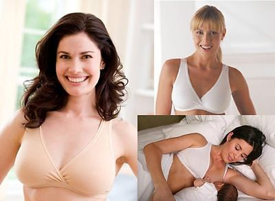 Medela Breast Feeding Night Nursing Sleep Breastfeeding Maternity Bra