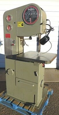 """DoAll 16"""" Metal/Wood Variable Speed Contour Bandsaw 5000 fpm NICE!"""