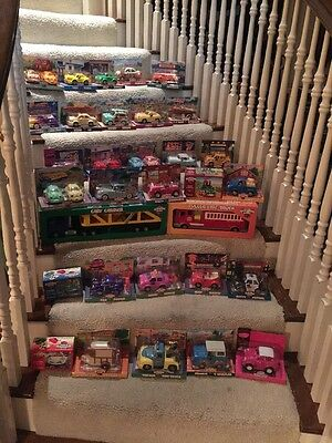 Chevron Cars Collector Set of 35 cars NEW IN BOX Large Lot
