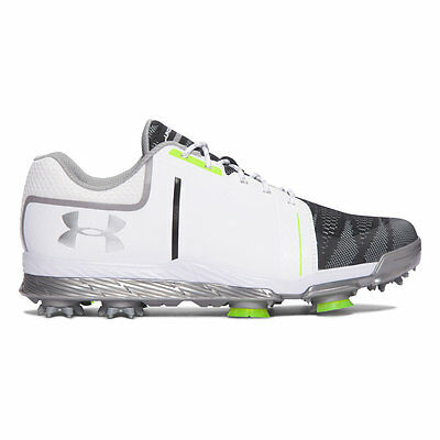 Under Armour lady Tempo Sport Golfschuh mit Spike, steel-neo puls, UVP 150€