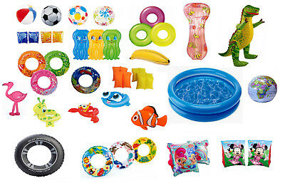 Children Blow Up Swimming Inflatables Summer Toys Kids Holiday Beach Pool Play