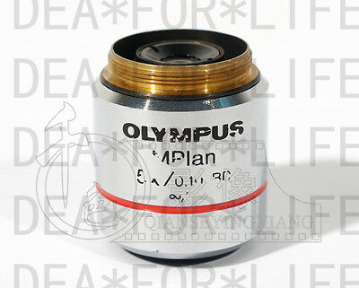Olympus MPlan N 5x/0.10 BD ∞/-/FN22 UIS2objective for BX51M,MX50,MX61 etc #C423