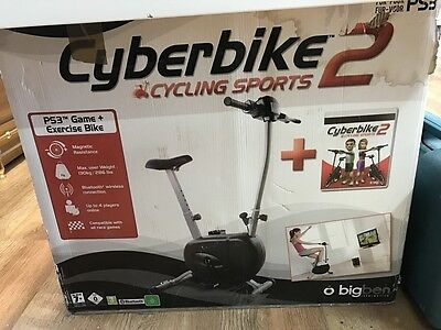 Cyberbike 2 Exercise Bike + Game for PS3 / Playstation 3