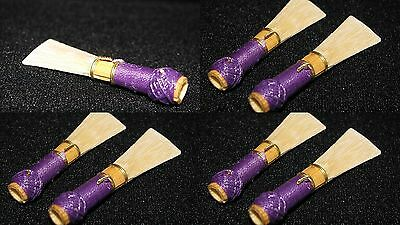 7 bassoon reeds french handmade by professional musician excellent quality