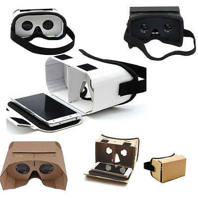 Cardboard 3D Glasses VR Box Virtual Reality Google Video For Android iPhone