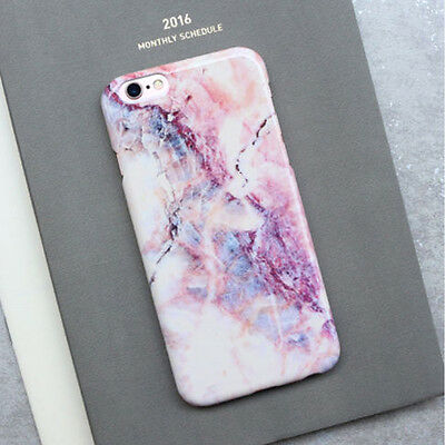 Stylish Cool Granite Marble Stone Effect Soft Case Cover For iPhone 7 7Plus 6 6s
