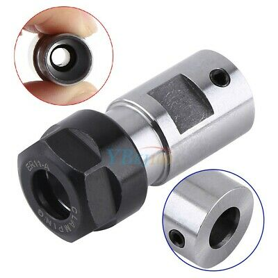 ER11A 8mm Collet Chuck Motor Shaft Spindle Extension Rod Holder For CNC Milling