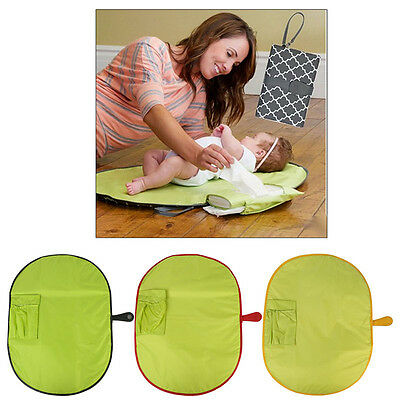 Newborn Baby Infant Foldable Urine Mat/ Changing Pad Cover Change Mat Travel Mat