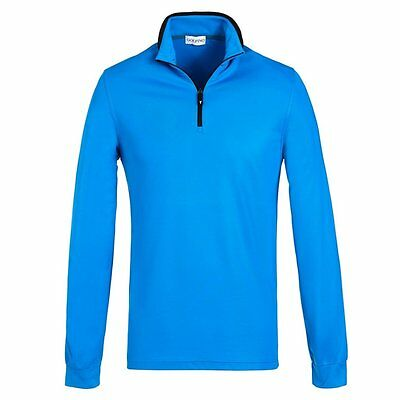 Golfino mens Polarlight Golf Troyer, Blau, UVP 99€