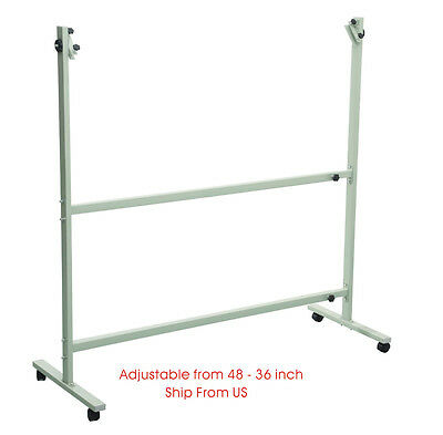 48-36 inch Portable Office Meeting Adjustable Whiteboard Mobile Metal Stand