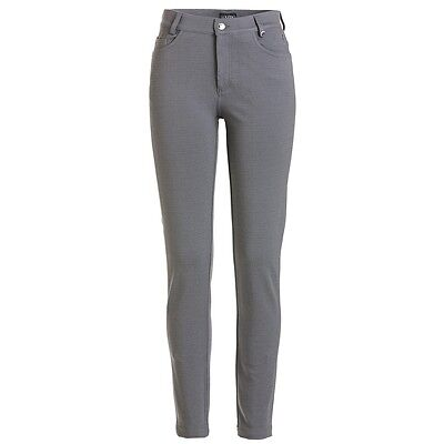 Golfino lady warm 5-Pocket Stretch Hose, Grau, UVP 149€