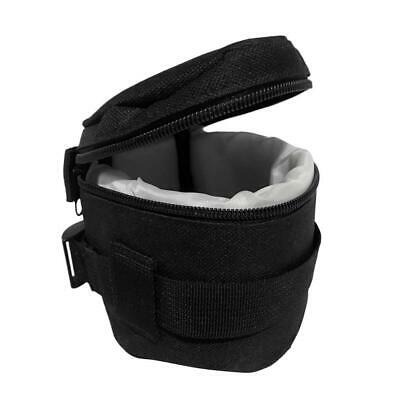 Waterproof DSLR Camera Lens Travel Soft Protector Carry Pouch Bag Case Organizer