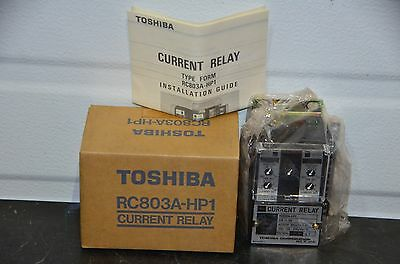 Toshiba RC803A-HP1 Current Relay Overcurrent / Undercurrent Protection 0.5 - 5A
