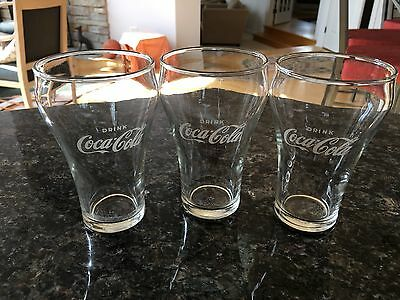 Vintage (1962) Coca Cola 12oz. glasses. Set of 12.