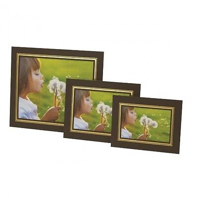 "BROWN 8 x 10"" Photo Mounts KENRO STRUT PACKS Cardboard Picture View Holders"