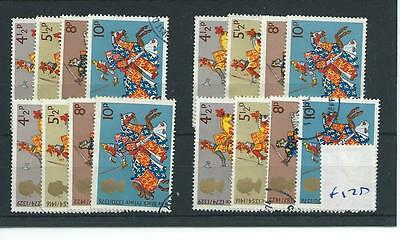 wbc. - GB WHOLESALE - 1974 - MEDIEVAL WARRIORS - F170 - FOUR SETS - FINE  USED