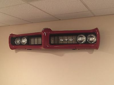 1968 1969 Pontiac GTO Vintage Wall Art Display Décor Man Cave Bar Restaurant