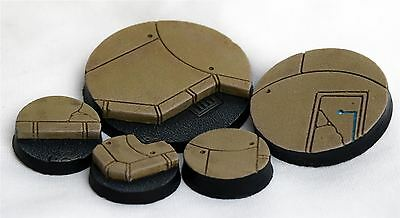 WWS Miniature Sci-Fi/Fantasy Paving Bases Set of 5