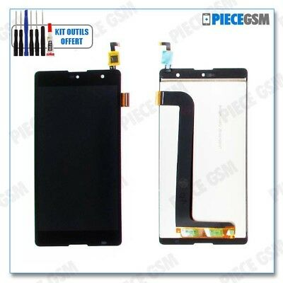 ECRAN LCD + VITRE TACTILE pour WIKO ROBBY + outils + colle b7000