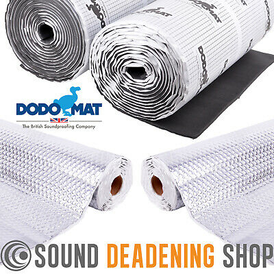 Dodo Mat 4x4 Land Rover or Van Sound Proofing Deadening & Insulation Kit
