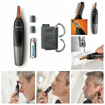 Philips Nose Nasal Hair, Ear and Eyebrow Hair Trimmer Remover Series 3000 NT3160