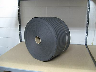 "1/8"" PE Black Recycled Foam Protective Packaging Wrap 12"" x 275' Per Roll"