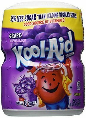 Kool Aid Grape Artificially Flavoured Drink Mix 538g 19oz