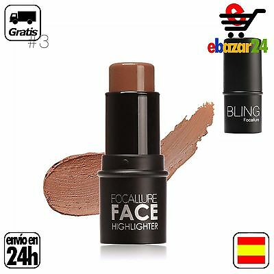 #3 FOCALLURE FACE HIGHLIGHTER MAKE UP BRILLO MAQUILLAJE CONTOUR  *Envío GRATIS d