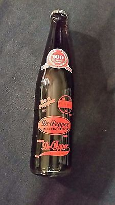 Rare 1985 Vintage Unopened Dr Pepper 100 Year Anniversary Commemorative Bottle
