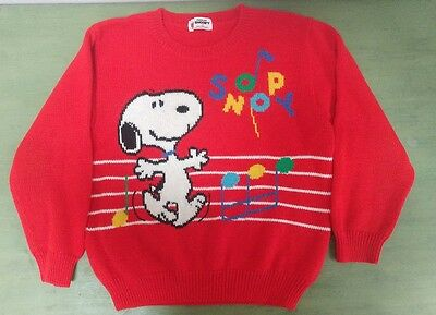 Awesome *VINTAGE* Snoopy Sweater -Youth Size