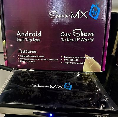 Shava TV MX Brand New Latest Model Andriod Limited time Offer 24 hour suuport