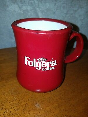 Vintage Folgers Continental Plastic Promotional Coffee Cups